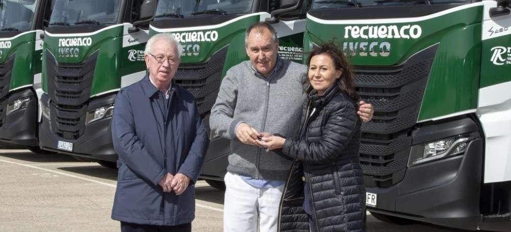 Transportes Luis Recuenco incorpora a su flota el nuevo IVECO S-WAY