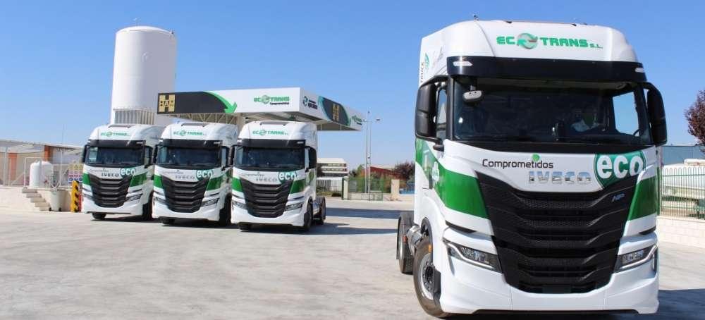 Global Feed Ecotrans amplía su flota camiones IVECO de gas natural