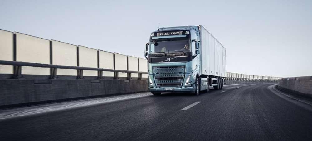 Volvo Trucks: el 45% de la mercancía se puede mover con camiones eléctricos