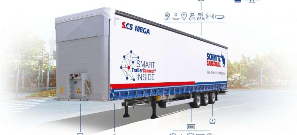 Schmitz Cargobull incorpora la telemática de serie en sus Lonas