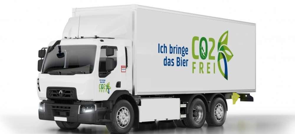 El Grupo Carlsberg incorpora camiones Renault Trucks 100% eléctricos
