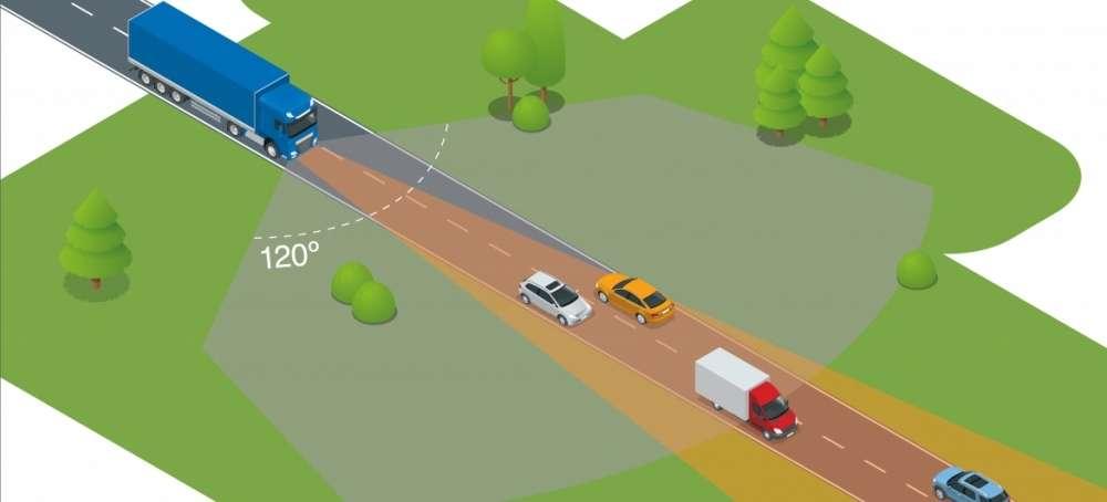DAF presenta un nuevo sistema de frenado de emergencia