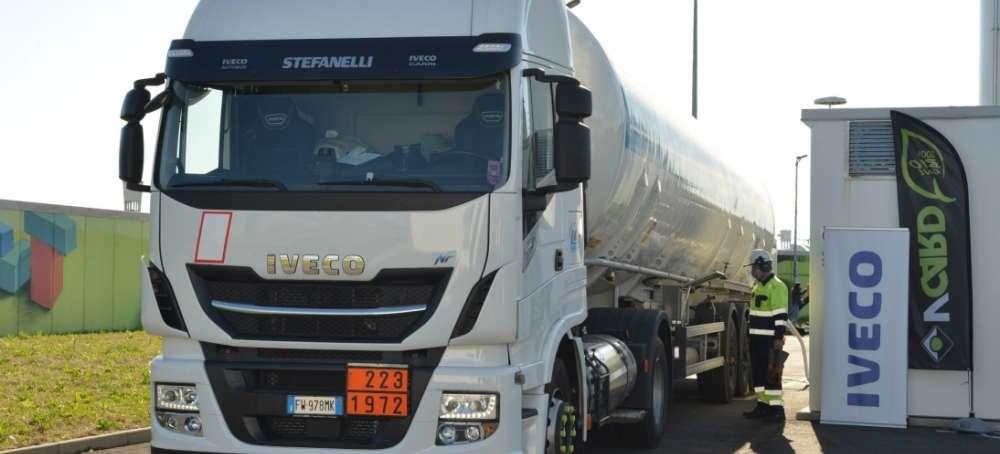 IVECO impulsa la llegada del biometano a las estaciones de servicio