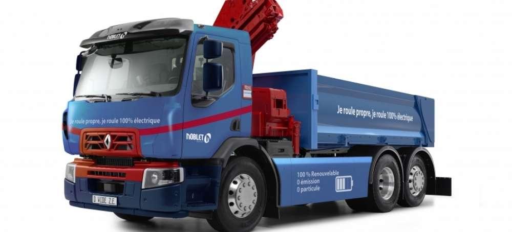 Resultado de imagen de Renault Trucks D Wide Z.E: versatilidad 100% eléctrica