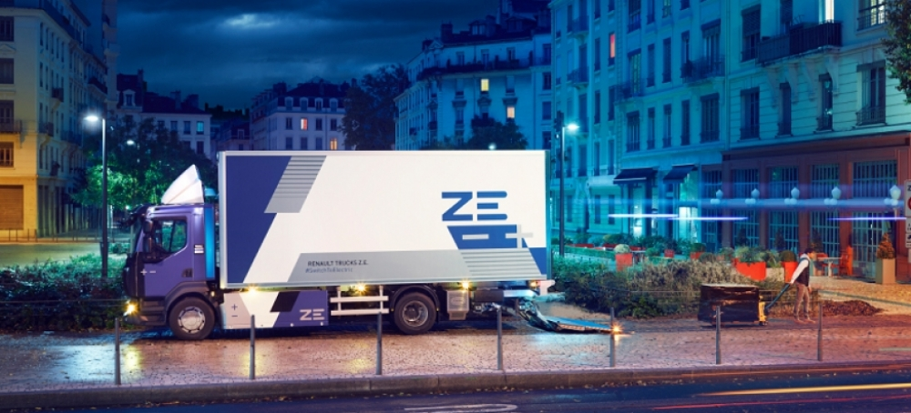 Novedades en la Gama Z.E. 100% eléctrica de Renault Trucks