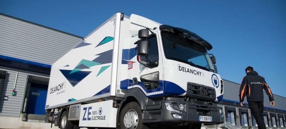 El Grupo Delanchy mira al futuro con la gama eléctrica ZE de Renault Trucks