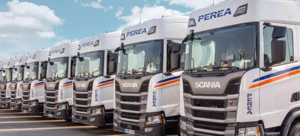 Grupo Perea incorpora camiones Scania