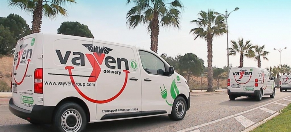 Vayven Delivery incorpora a su flota furgonetas Toyota Proace 100% eléctricas