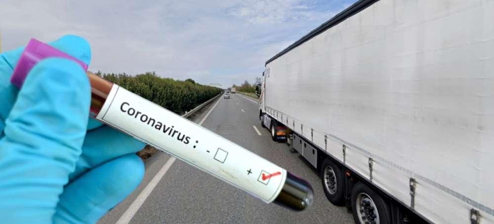 Así está golpeando el coronavirus al transporte de mercancías por carretera