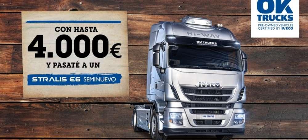 IVECO te ofrece hasta 4.000 euros para renovar tu camión