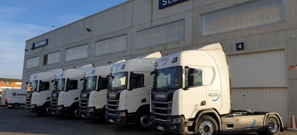 ROR Operador Logístico mantiene su apuesta por Scania